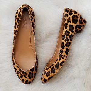 J. Crew | Bryn Leopard Heels